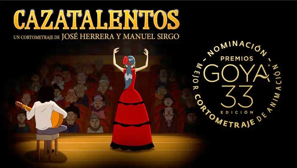Cazatalentos, ganador del Goya al Mejor Cortometraje de Animación, inaugurará el II Festival de Cine de Vera
