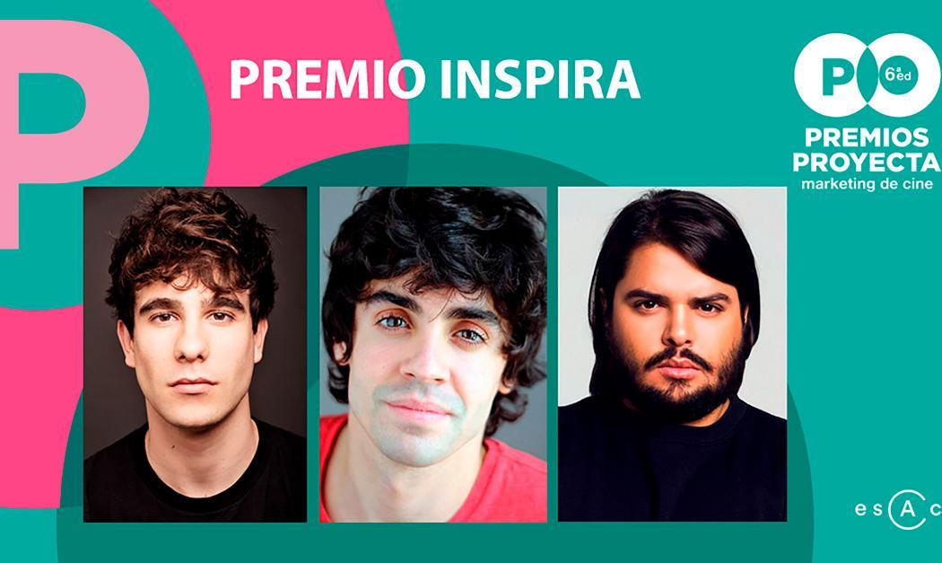Brays Efe, Javier Calvo y Javier Ambrossi, ganadores del Premio Inspira