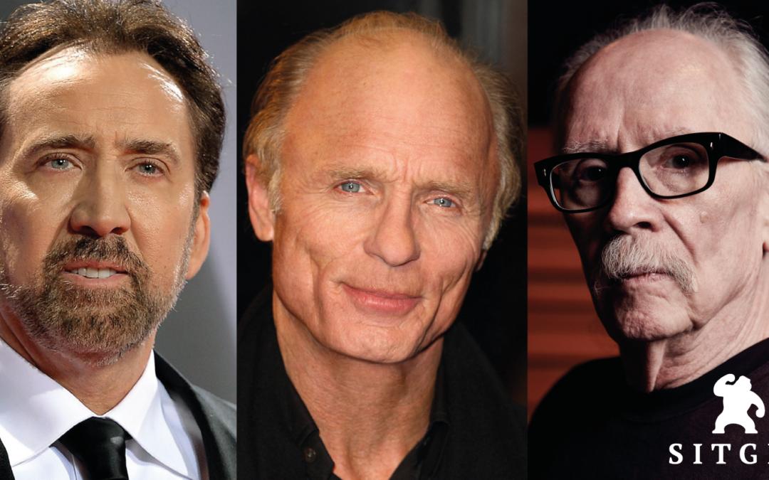 Nicolas Cage y Ed Harris recibirán el Premio Honorífico del Festival de Sitges